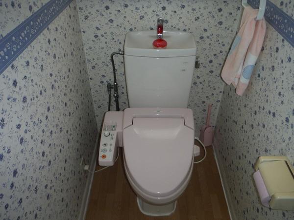 汚れが付きにくいトイレ